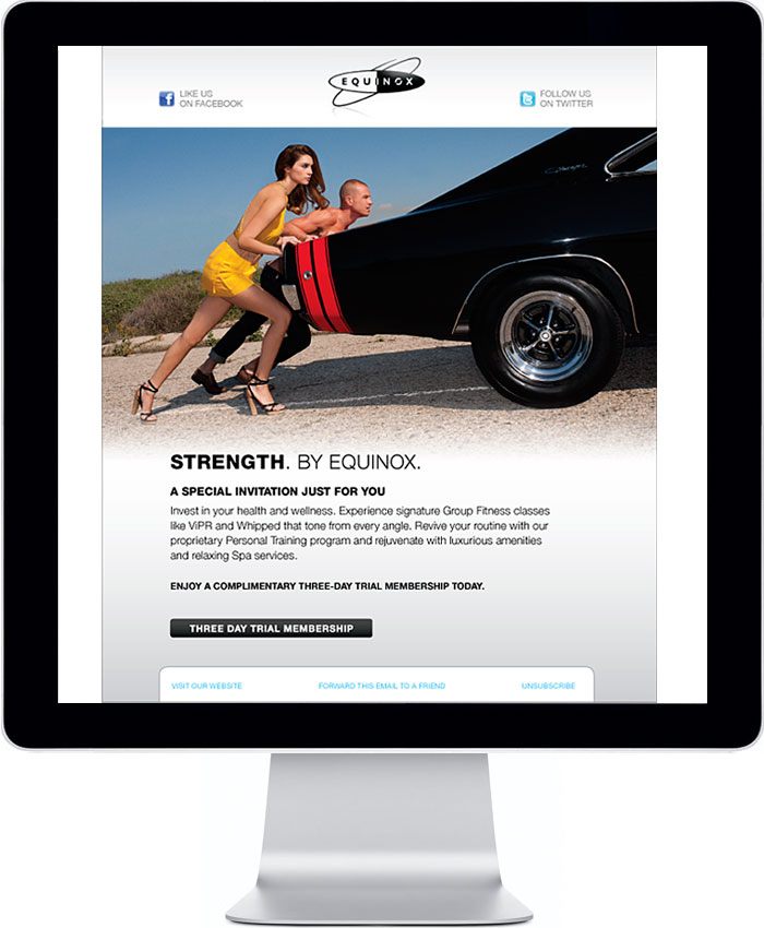 Equinox Email Redesign